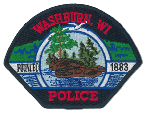 Image of the Washburn Police Department's patch